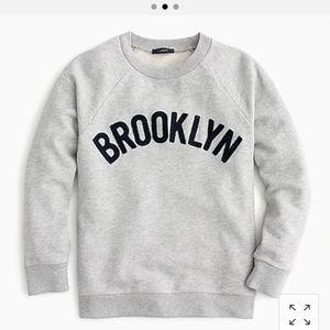 J Crew Brooklyn Sweatshirt